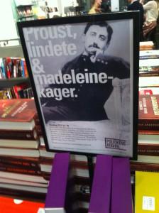 Proust i Politikens Hus i anledning af den afsluttede nyeoversættelsen